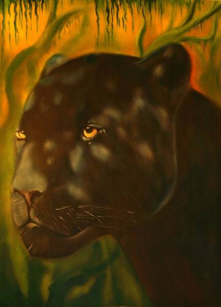 Painting - Ix Och Khan by Roger Williamson