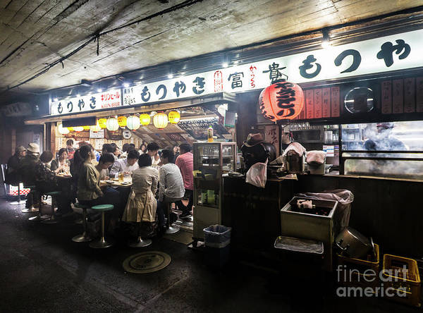 Photograph - Izakaya Dinner In Tokyo by Didier Marti
