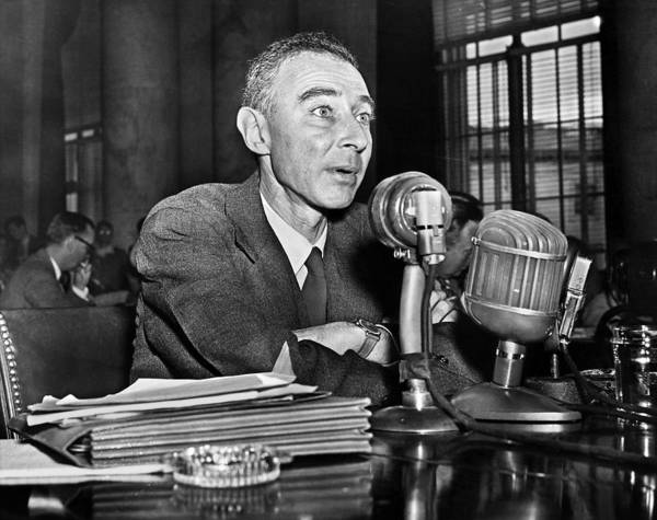 Photograph - J. Robert Oppenheimer by Granger
