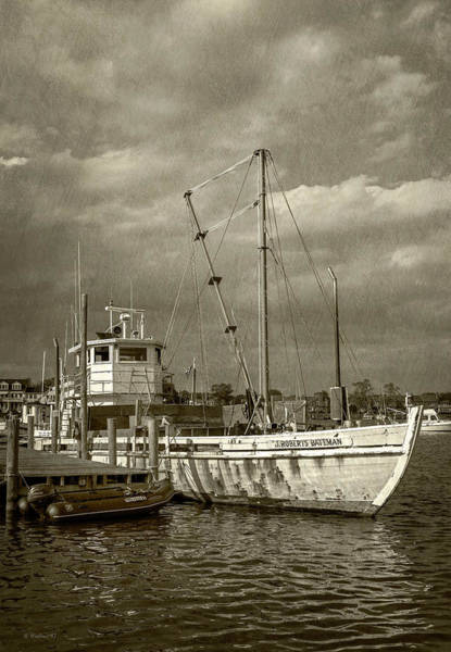 Floating Museum Photograph - J. Roberts Bateman - Sepia by Brian Wallace