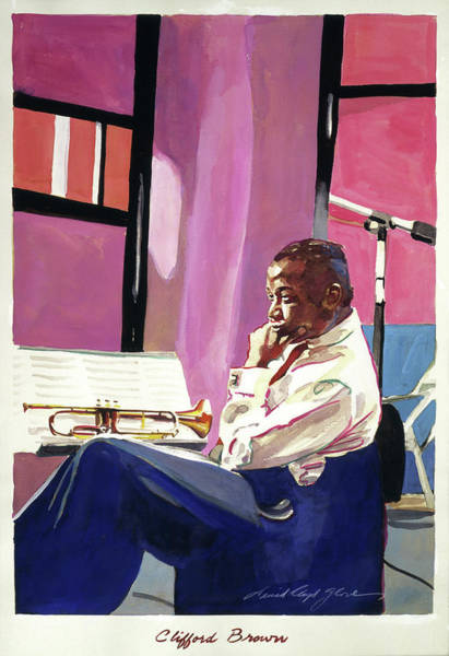 Painting - Clifford Brown by David Lloyd Glover