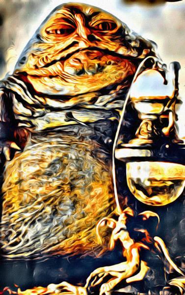 Galactic Empire Photograph - Jabba Portrait by Modern Art