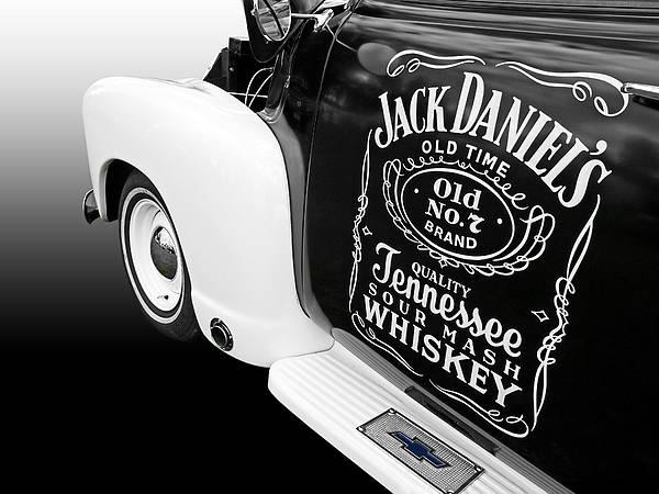 Photograph - Jack Daniel's Chevy by Gill Billington