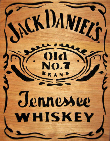 Whiskey Mixed Media - Jack Daniels by Michael Bergman
