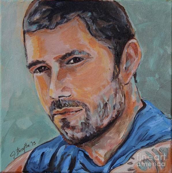 Painting - Jack From Lost by Jeanne Forsythe