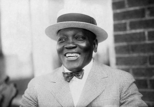 Jack Johnson Smiling - 1909 Art Print