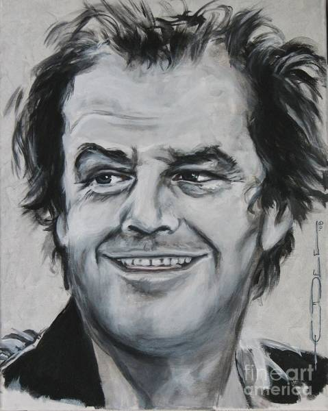 Painting - Jack Nicholson by Eric Dee