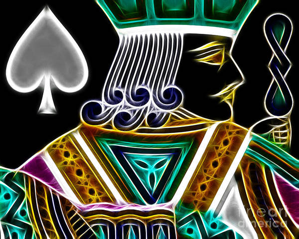 Photograph - Jack Of Spades - V4 by Wingsdomain Art and Photography