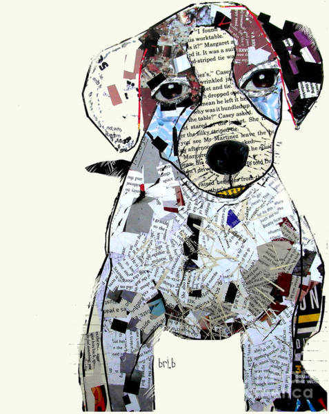Wall Art - Painting - Jack Russell by Bri Buckley