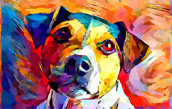 Wall Art - Painting - Jack Russell Terrier by Chris Butler