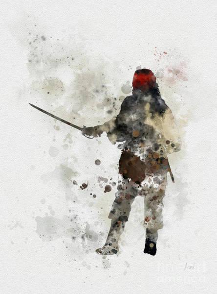 Sparrow Mixed Media - Jack Sparrow by My Inspiration