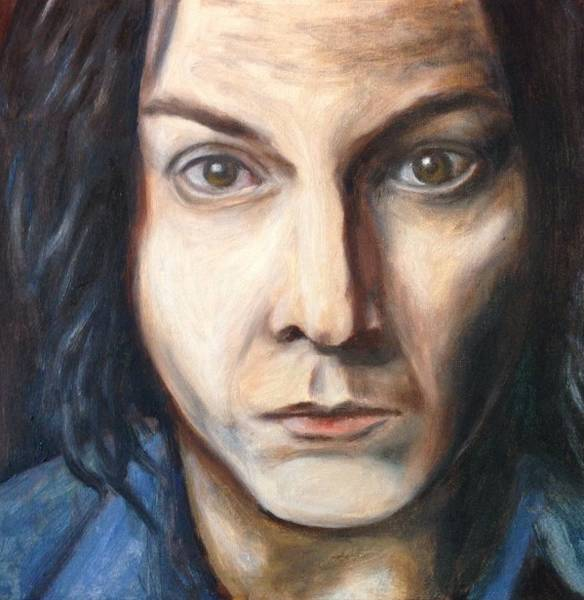 Painting - A Tribute To Jack White by Jac Mason