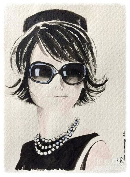 Subtle Painting - Jackie  by Barbara Chase