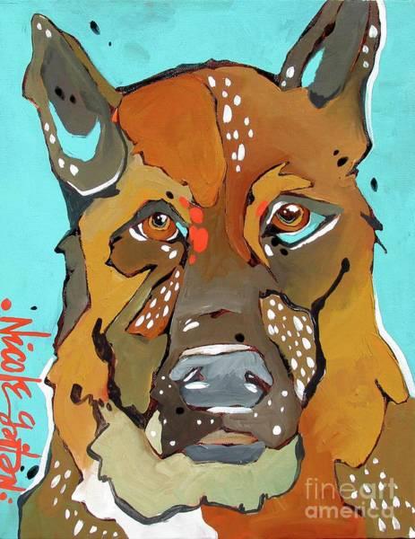 Painting - Jackie by Nicole Gaitan