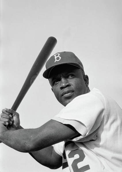 Jackie Robinson Wall Art - Photograph - Jackie Robinson 1952 by Mountain Dreams