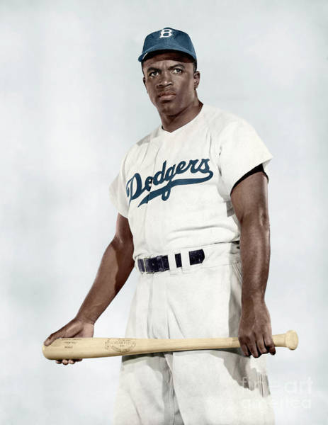 Photograph - Jackie Robinson by Granger