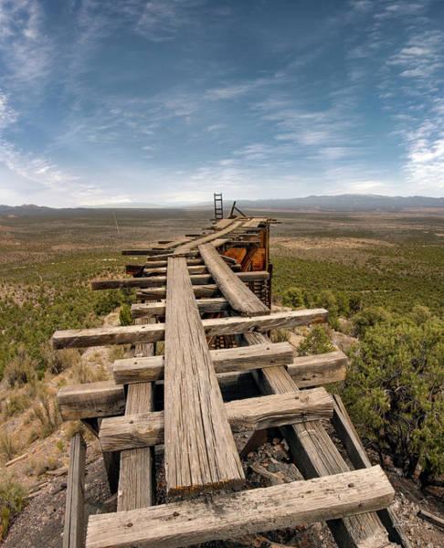 Wall Art - Photograph - Jackrabbit Mine by Leland D Howard