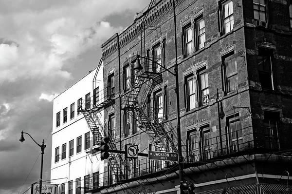 Blvd Photograph - Jackson Blvd by D Plinth