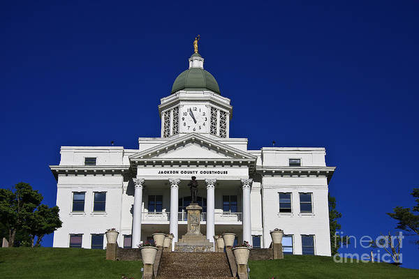 Photograph - Jackson County Courthouse by Jill Lang
