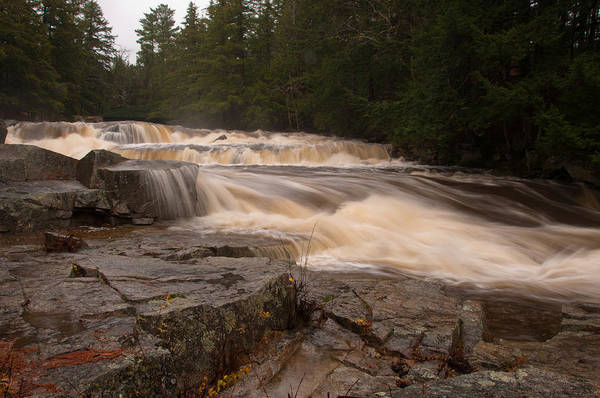 Photograph - Jackson Falls In Jackson, New Hampshire by Brenda Jacobs