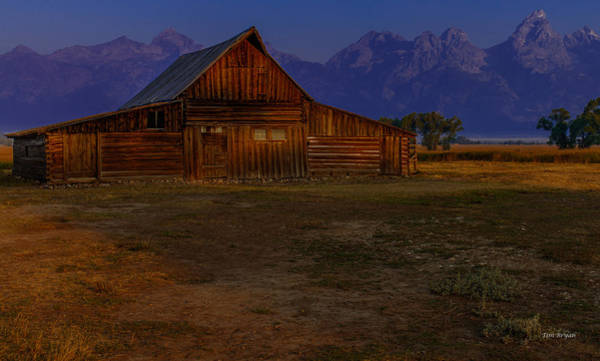 Photograph - Jackson Hole Dawn by Tim Bryan