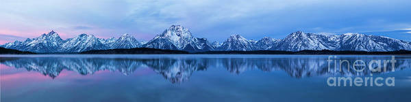 Jackson Hole Photograph - Jackson Lake Panorama by Twenty Two North Photography