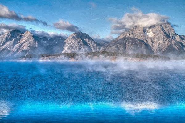 Wall Art - Photograph - Jackson Lake - Teton National Park by Donna Kennedy