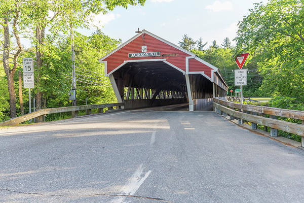 Photograph - Jackson Nh Covered Bridge by Brian MacLean