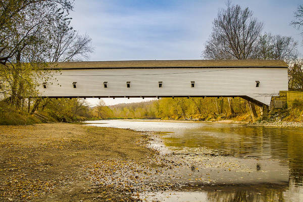 Photograph - Jackson/rockport Covered Bridge by Jack R Perry