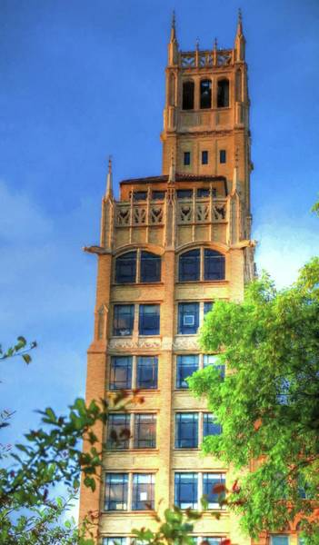 Photograph - Jackson Sky Skyscraper Of Asheville North Carolina by Carol Montoya