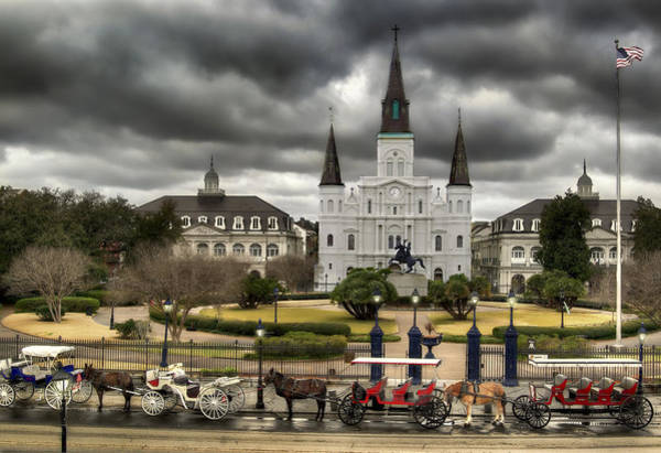New Orleans Photograph - Jackson Square New Orleans by Don Lovett