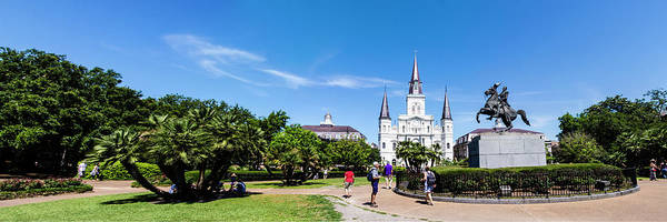 Photograph - Jackson Square Panorama by Chris Coffee