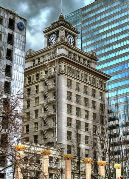 Jackson Tower Portland Oregon Art Print