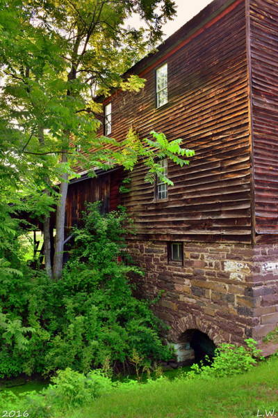 Photograph - Jackson's Gristmill/sawmill by Lisa Wooten
