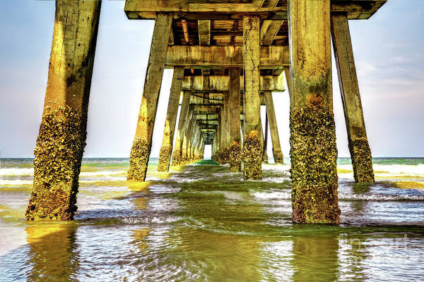 Photograph - Jacksonville Beach Pier by Kay Brewer