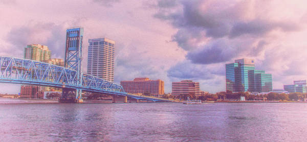 Photograph - Jacksonville Florida City Of Bridges  by Ola Allen