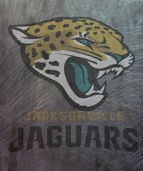 Mixed Media - Jacksonville Jaguars Translucent Steel by Movie Poster Prints