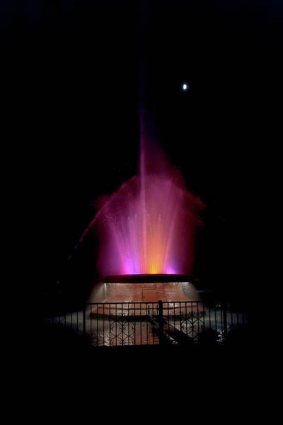 Photograph - Jacob Fisher Rainbow Fountain by Susan Rissi Tregoning