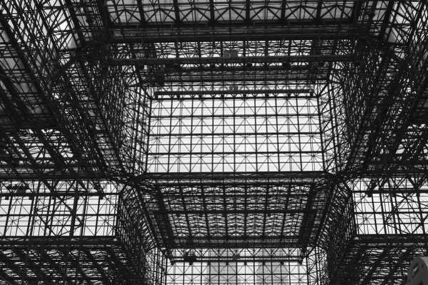 Photograph - Jacob Javits Ceiling Nyc by Polly Castor