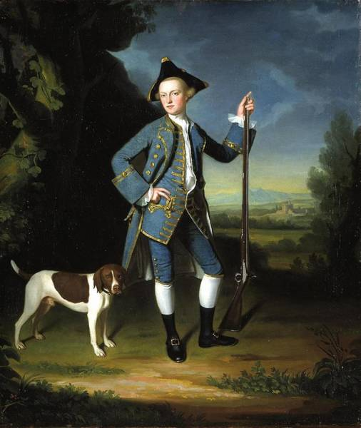 Romney Painting - Jacob Morland Of Capplethwaite by George Romney