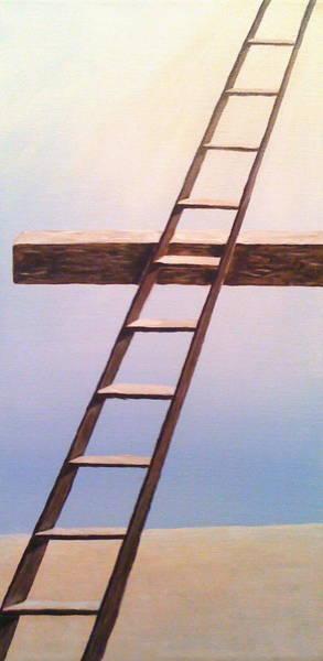 Painting - Jacob's Ladder by Deborah Brown Maher