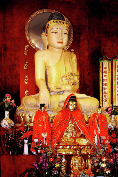 Photograph - Jade Buddha Jing'an Temple Shanghai by Christine Till