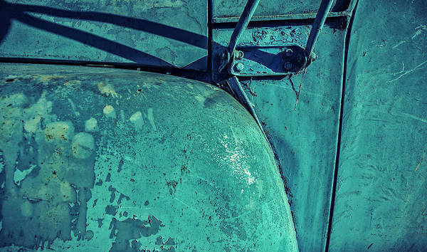 Photograph - Jaded And Faded Blue Truck by John Williams