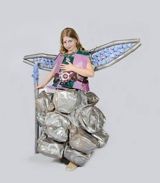 Floppy Disk Photograph - Jaeda In Techno Fairy by Irina Archangelskaya