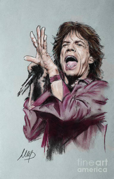 Wall Art - Painting - Jagger by Melanie D
