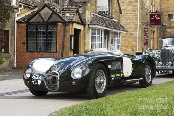 Photograph - Jaguar C Type by Tim Gainey
