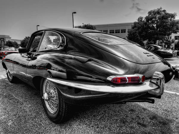 Photograph - Jaguar E Type 001 by Lance Vaughn
