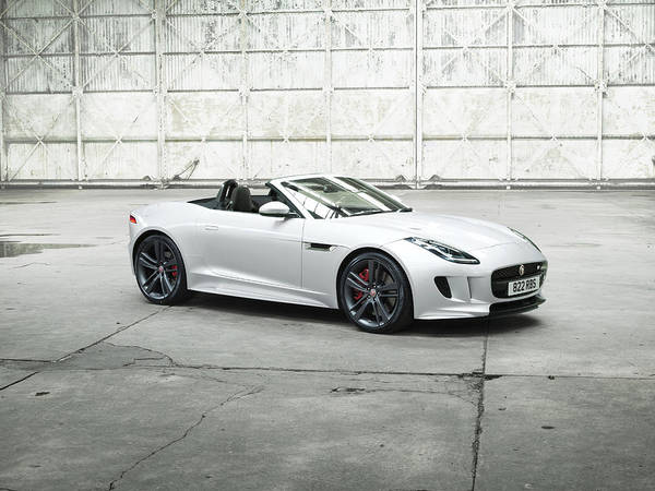 Wall Art - Digital Art - Jaguar F-type by Lissa Barone