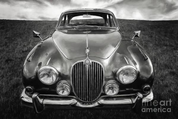 Photograph - Jaguar Mk II 3.8 Litre by Adrian Evans