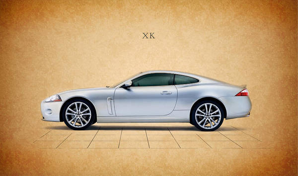 Super Cars Photograph - Jaguar Xk by Mark Rogan